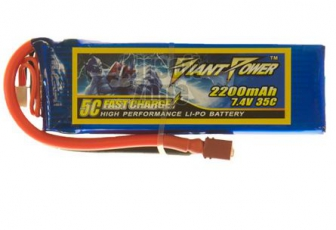 Giant Power Li-Po 7.4V, 2200mAh, 35C