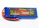 Giant Power LiPo 2600mAh 7.4V 65C T-plug